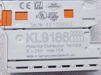 Beckhoff KL9186 Potenzialverteilerklemme