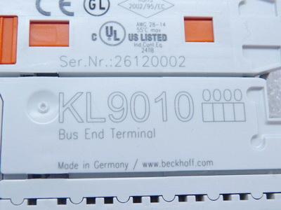 Beckhoff KL9010 Endklemme