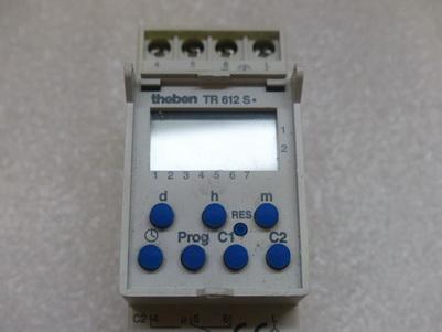 theben digital timer instructions