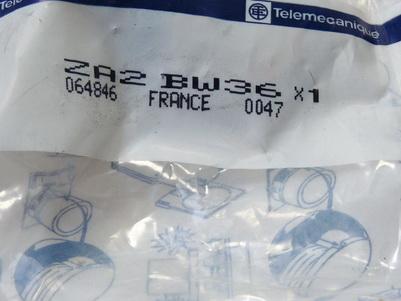 Telemecanique ZA2 BW36 Drucktaster blau ungebraucht in OVP
