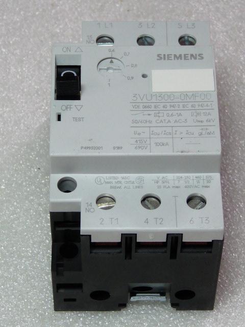 Siemens 3VU1300-0MF00 Leistungsschalter