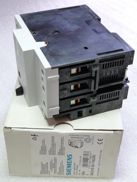 Siemens 3VU1600-1MJ00 Leistungsschalter