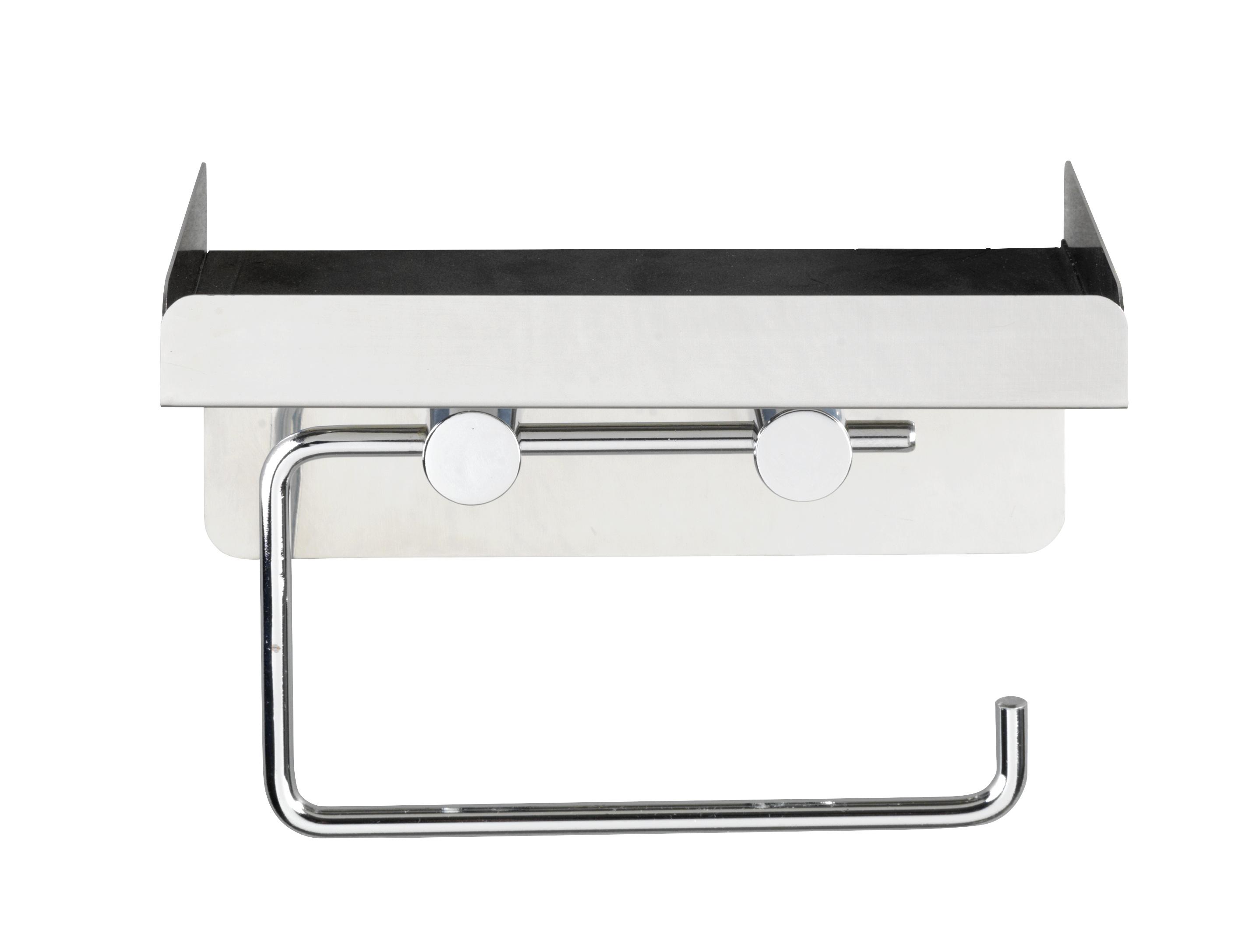 wenko toilettenpapierhalter 2 in 1 edelstahl rostfrei ebay. Black Bedroom Furniture Sets. Home Design Ideas