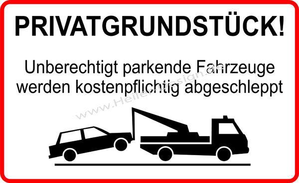parken verboten schild parkverbot privatparkplatz hinweisschild halteverbot ebay. Black Bedroom Furniture Sets. Home Design Ideas