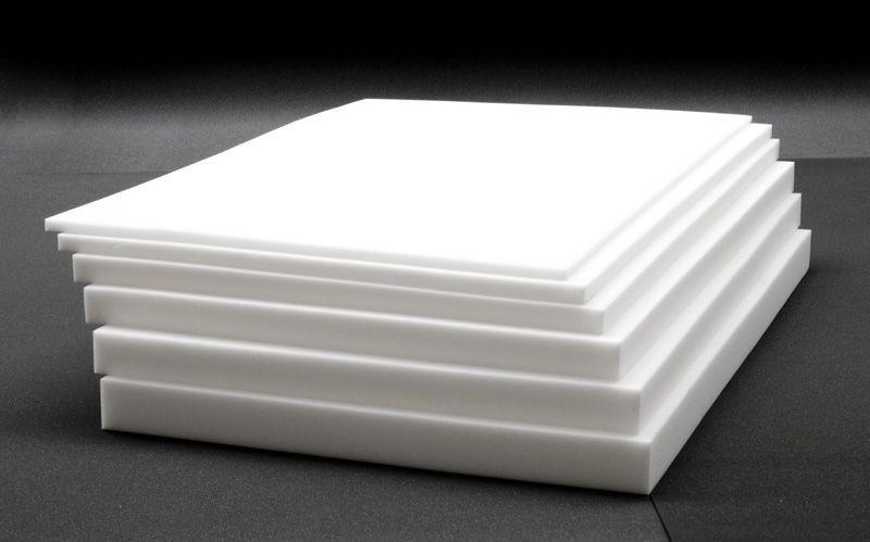 schaumstoff platte rg17 sh20 r ckenpolster bastelschaum polsterplatte 2 6m ebay. Black Bedroom Furniture Sets. Home Design Ideas