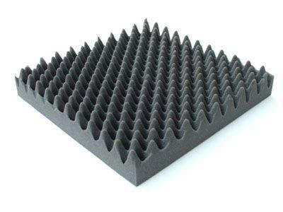 4m noppenschaum tafeln flammhemmend 10cm kompressor schalld mmung studiosound ebay. Black Bedroom Furniture Sets. Home Design Ideas