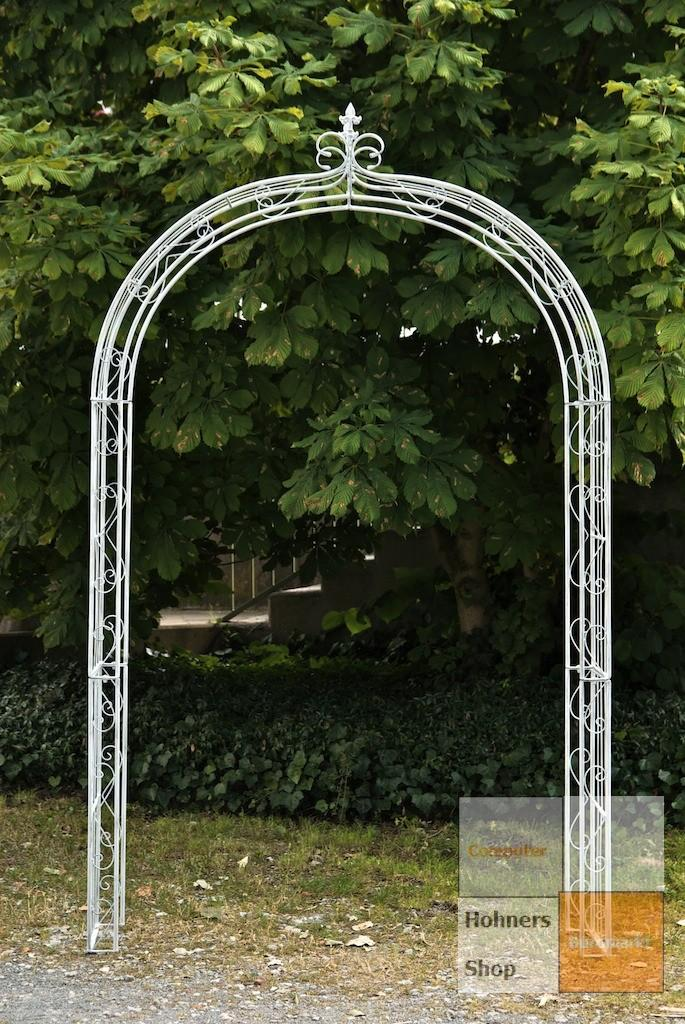 rosenbogen dahlia antik weiss rankhilfe pergola ebay. Black Bedroom Furniture Sets. Home Design Ideas