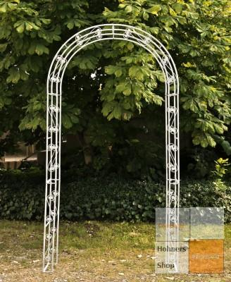rosenbogen malve antik weiss rankhilfe pergola ebay. Black Bedroom Furniture Sets. Home Design Ideas