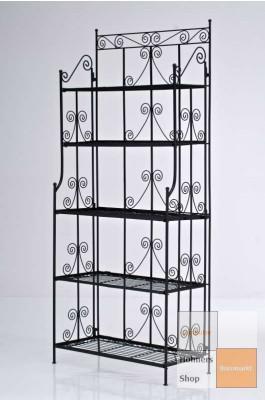 eisenregal schwarz w rmed mmung der w nde malerei. Black Bedroom Furniture Sets. Home Design Ideas