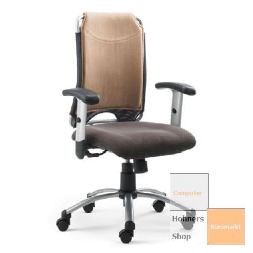 mayer b rodrehstuhl drehstuhl spirit braun beige ebay. Black Bedroom Furniture Sets. Home Design Ideas