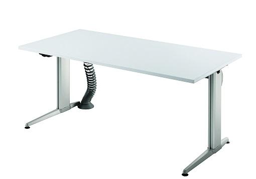 b ro schreibtisch stehtisch h henverstellbar 160x80 cm modell xe16 ebay. Black Bedroom Furniture Sets. Home Design Ideas
