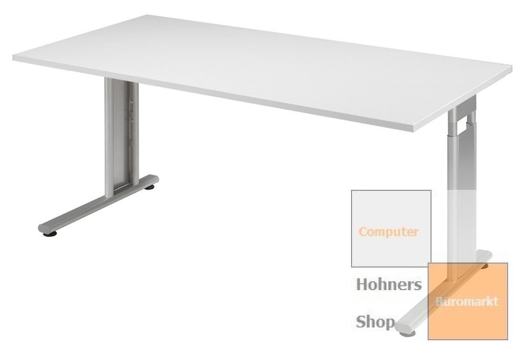 B ro schreibtisch 180x80 cm modell lissabon for Schreibtisch 250 cm