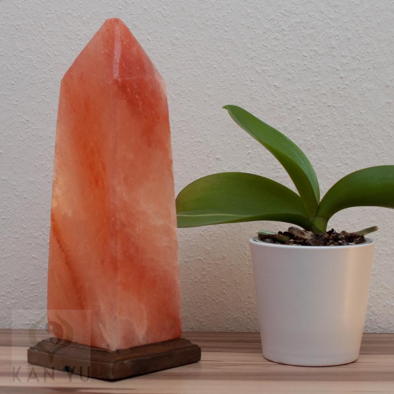 biova premium salzlampe obelisk ca 30 cm salzleuchte salzkristall lampe ebay. Black Bedroom Furniture Sets. Home Design Ideas