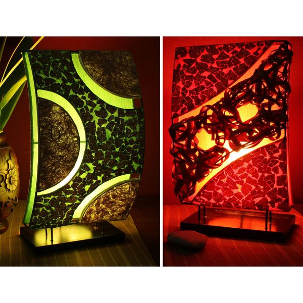lestarie tischlampe deko lampen feng shui handgefertigt. Black Bedroom Furniture Sets. Home Design Ideas