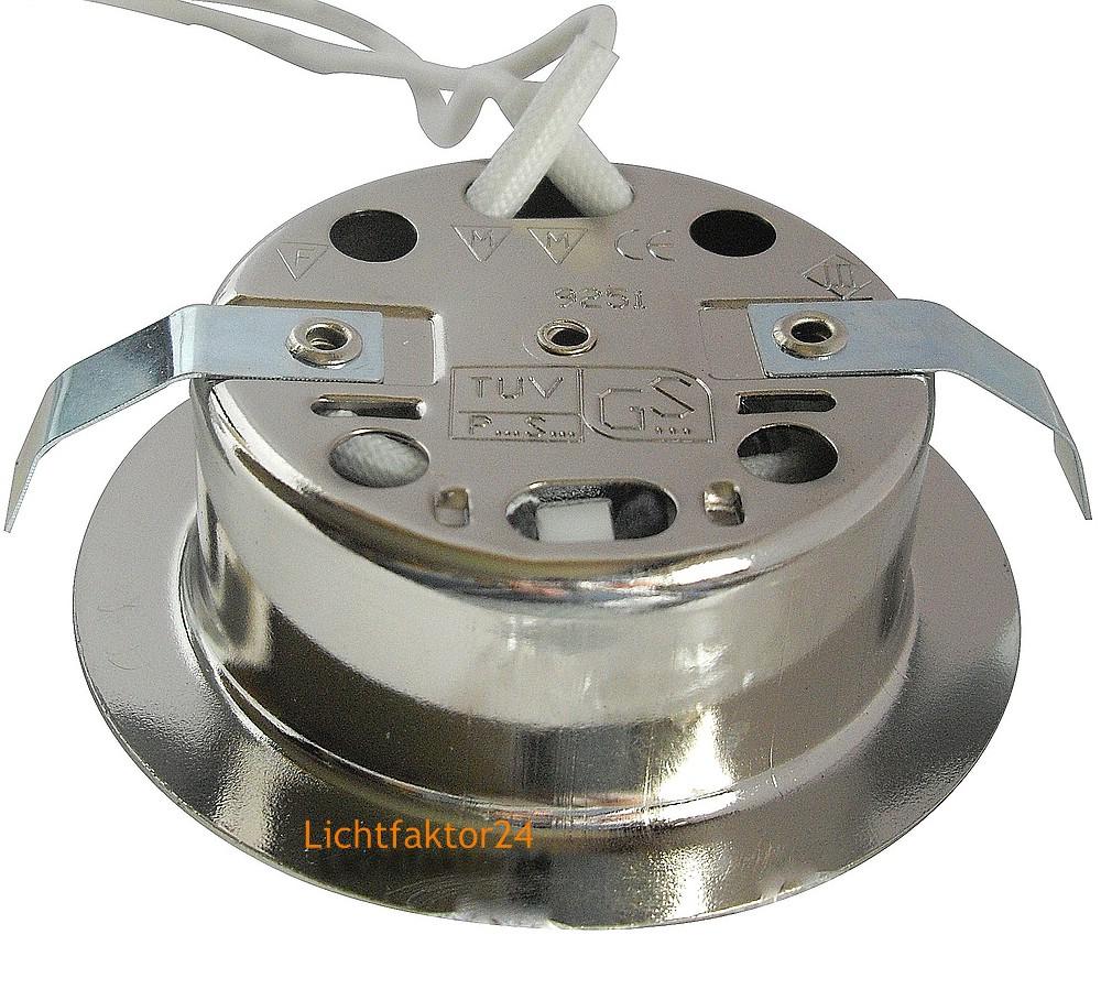 sets 12v m bel einbaustrahler 20w halogen lm trafo kabel und amp stecker. Black Bedroom Furniture Sets. Home Design Ideas