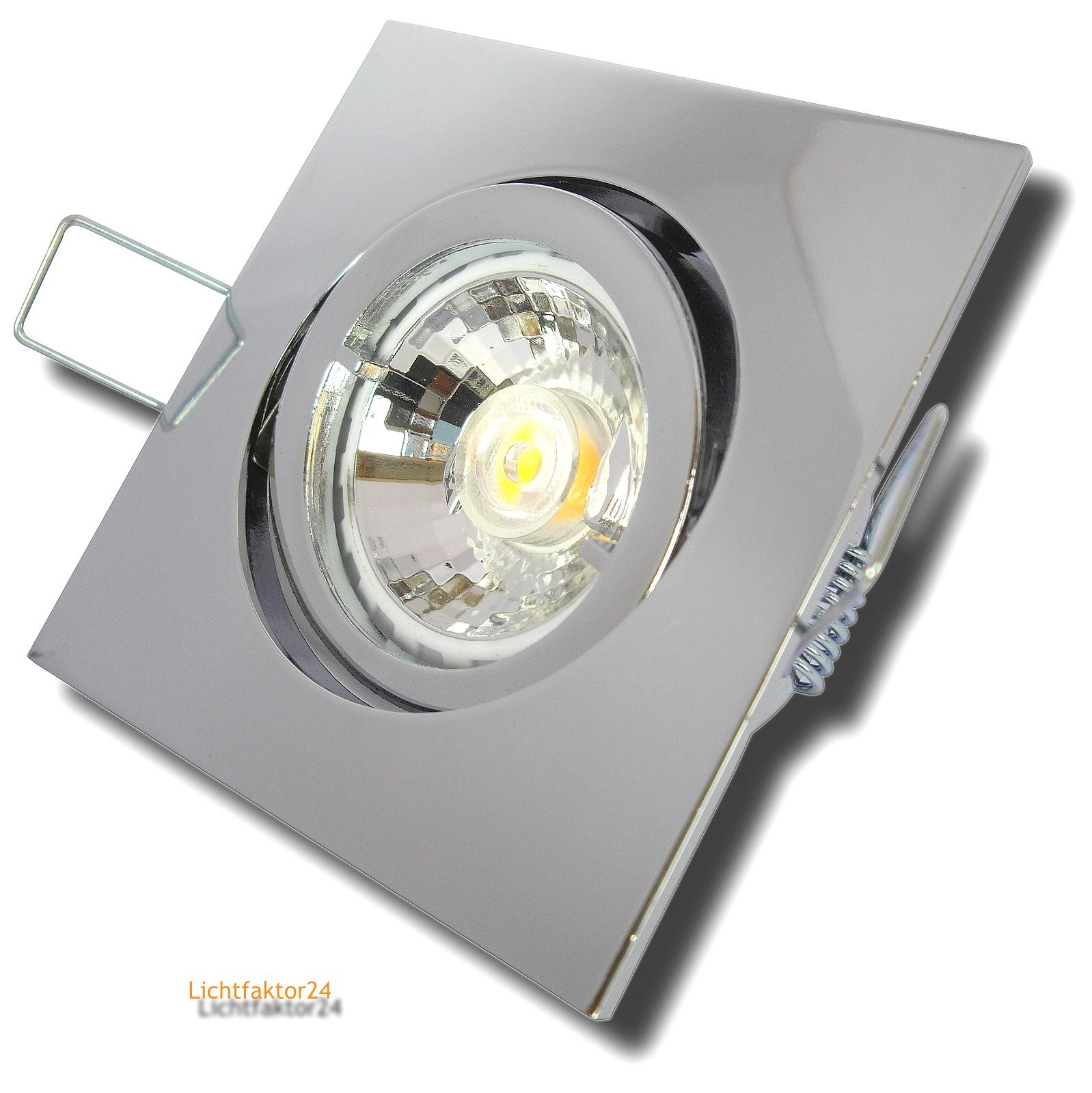 7w led leuchten sets dimmbar 230volt schwenkbar. Black Bedroom Furniture Sets. Home Design Ideas