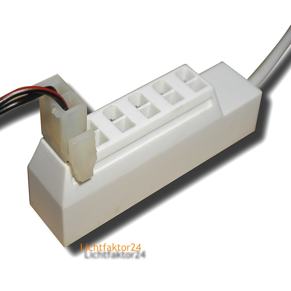 2er set led unterbauleuchten 12v 3w schalter kabel stecker treiber 12w ebay. Black Bedroom Furniture Sets. Home Design Ideas