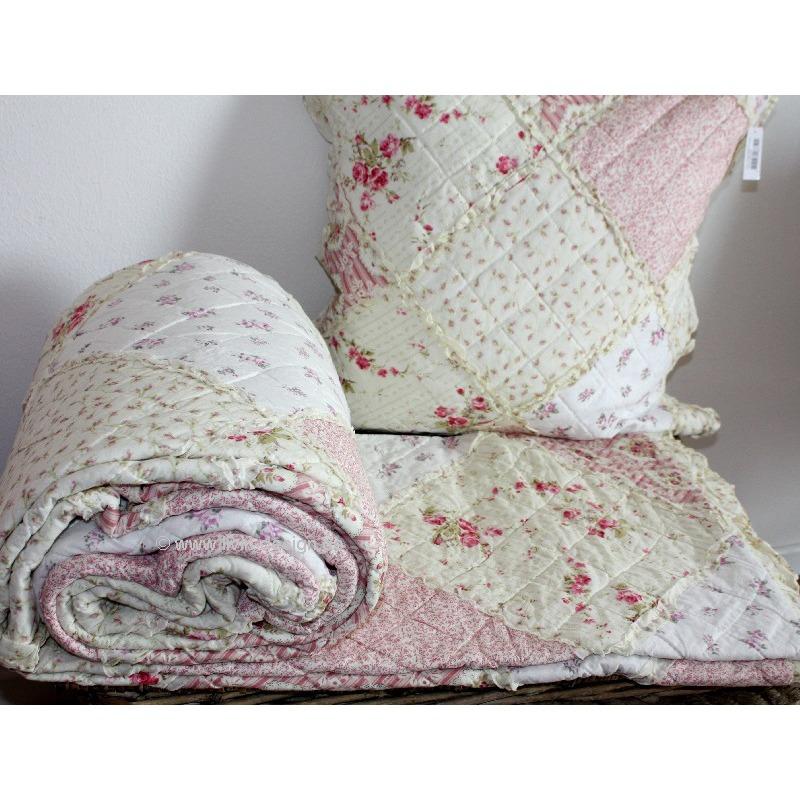 originelle Bettdecke grün Patchwork Sets gemütliches Schlafzimmer