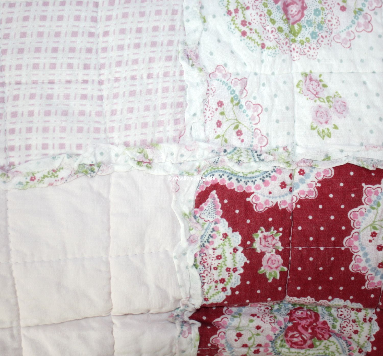 Tagesdecke quilt plaid joseira paisley rosa rot 140x200 cm for Tagesdecke paisley