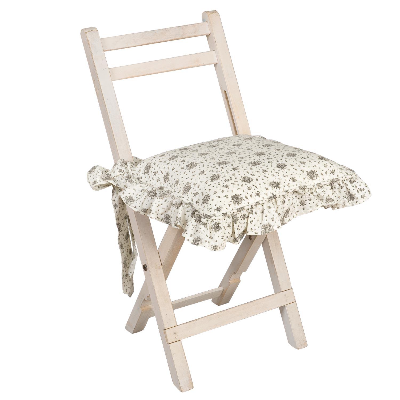 clayre fed coussins de chaise housse flowers all over bleu gris vert beige o rouge 40x40cm ebay. Black Bedroom Furniture Sets. Home Design Ideas