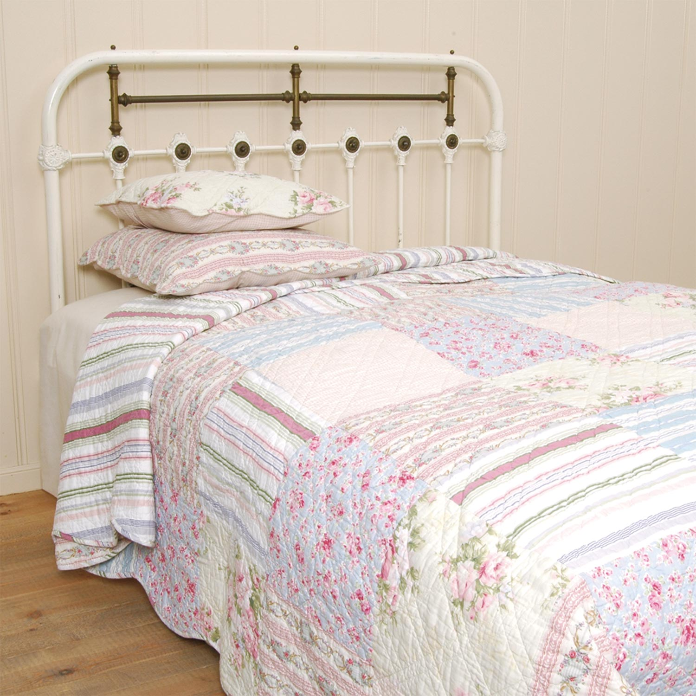 clayre eef tagesdecke quilt plaid oslo wei blau rosa. Black Bedroom Furniture Sets. Home Design Ideas