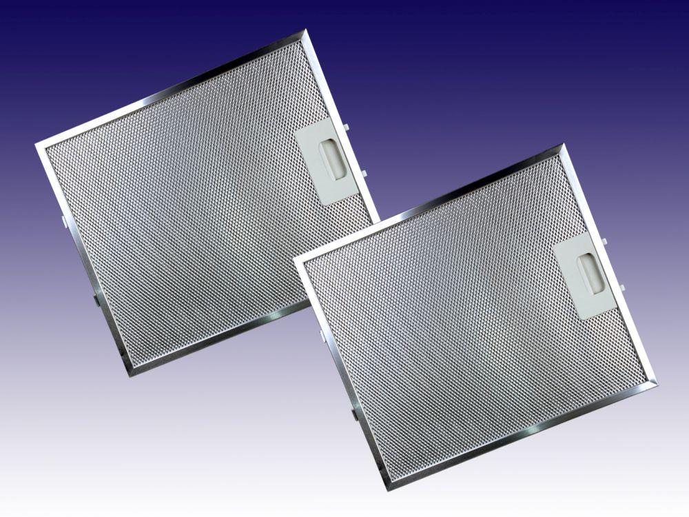 2 st metallfettfilter fettfilter abzugshaube dunstabzug aeg zanussi 4055250429 ebay. Black Bedroom Furniture Sets. Home Design Ideas