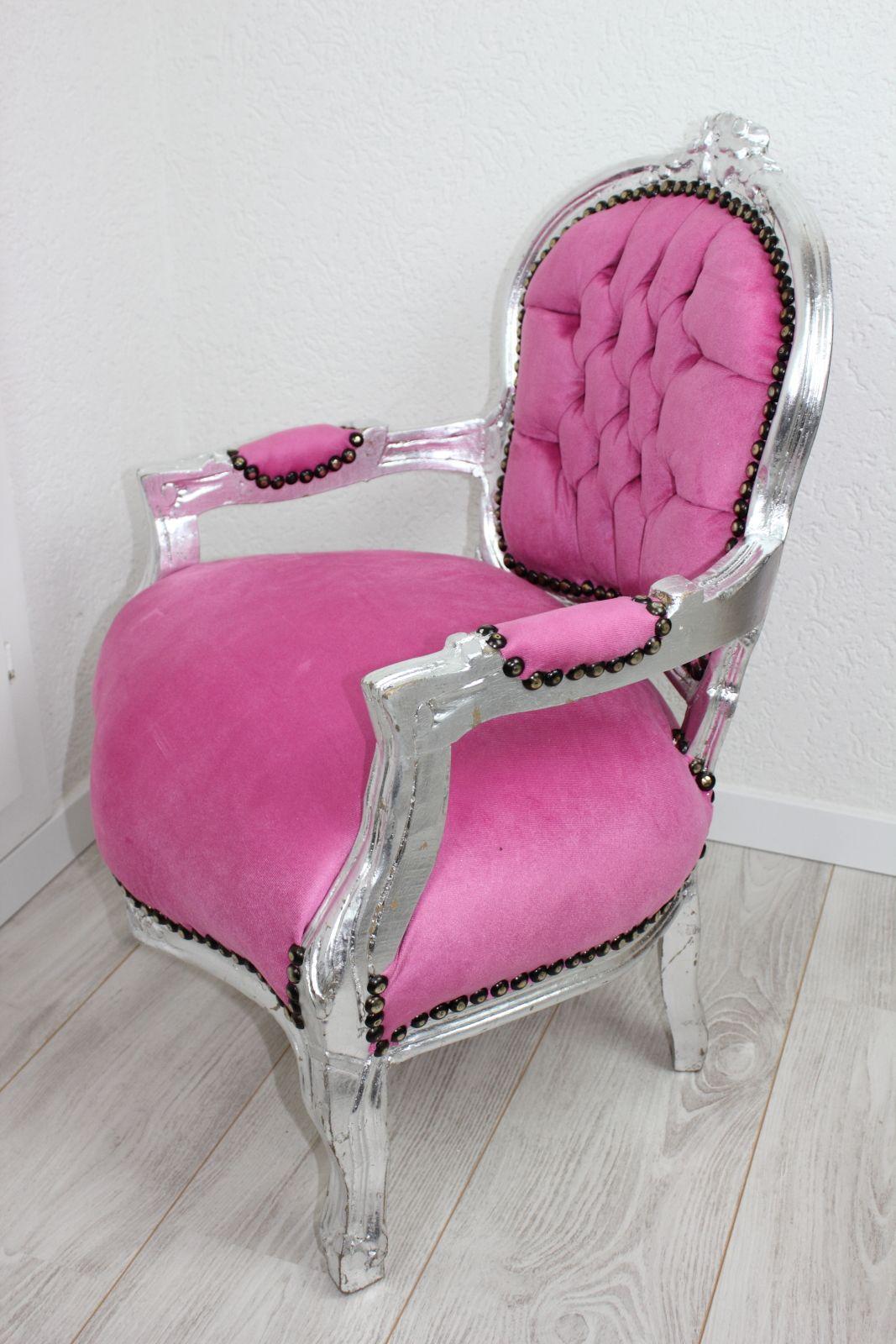 kinderstuhl barock stuhl prinzessinnenstuhl rosa antik. Black Bedroom Furniture Sets. Home Design Ideas
