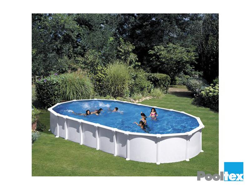 Dream pool clear white komplett set ab 610 x 375 x 132 for Pool aufstellbar