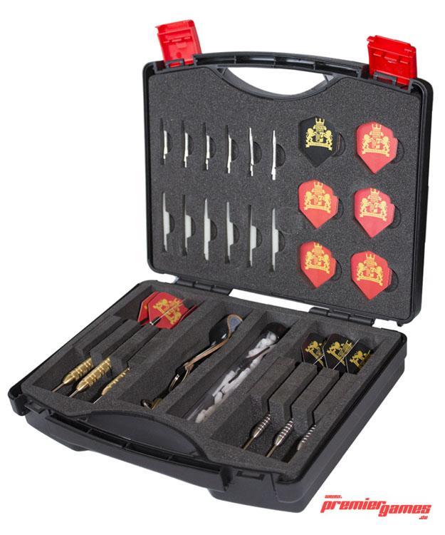 royal darts dartskoffer style darttasche mit platz f r viel zubeh r ebay. Black Bedroom Furniture Sets. Home Design Ideas