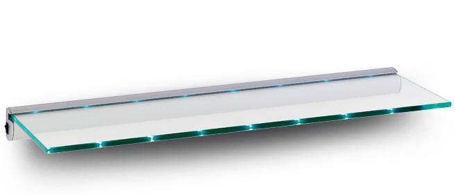 estante de cristal led light iluminado ebay. Black Bedroom Furniture Sets. Home Design Ideas