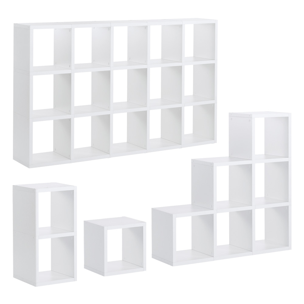 regalsystem boon modular wei 40 gr en h he 110cm ebay. Black Bedroom Furniture Sets. Home Design Ideas