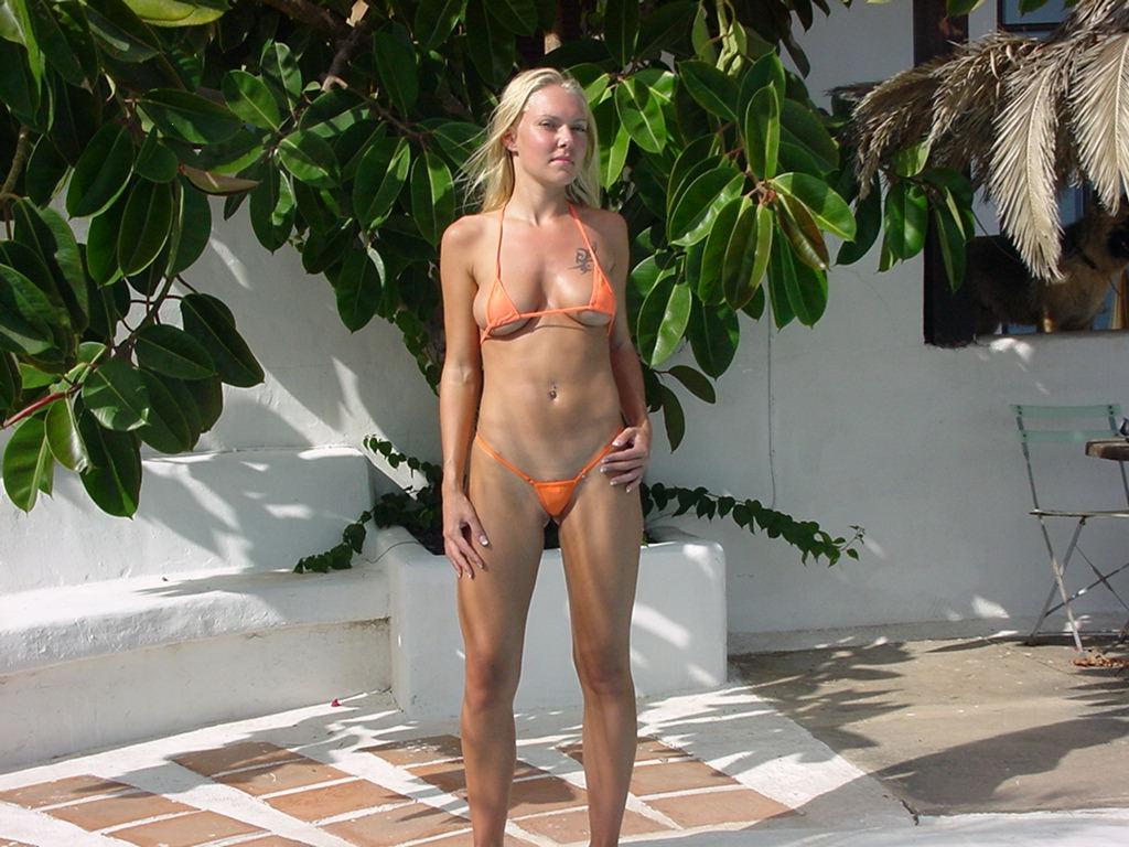 Micro Mini Sheer String Bikini
