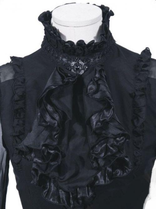 r schen festliche bluse langarm gothic lolita v kei rq bl. Black Bedroom Furniture Sets. Home Design Ideas