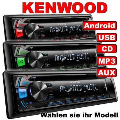 Kenwood KDC-164 Autoradio versch. Modelle / RDS CD MP3 USB AUX Android Steuerung