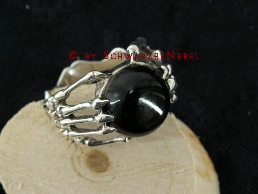 Silberring-Skelett-mit-Onyx-Gothic-Ring-18-58-59