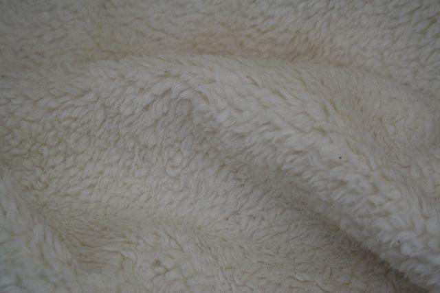 teddy fell natur meterware stoff deko schaffell decke. Black Bedroom Furniture Sets. Home Design Ideas