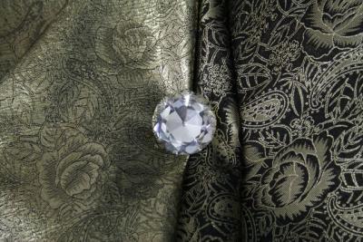 brokat gold orient stoff bekleidung jacke mantel kissen gardine karneval 0 5m ebay. Black Bedroom Furniture Sets. Home Design Ideas