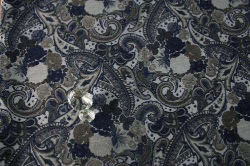 jeans rosen sale 30 blumen paisley gobelin stoff meterware jacke blazer 0 5m. Black Bedroom Furniture Sets. Home Design Ideas
