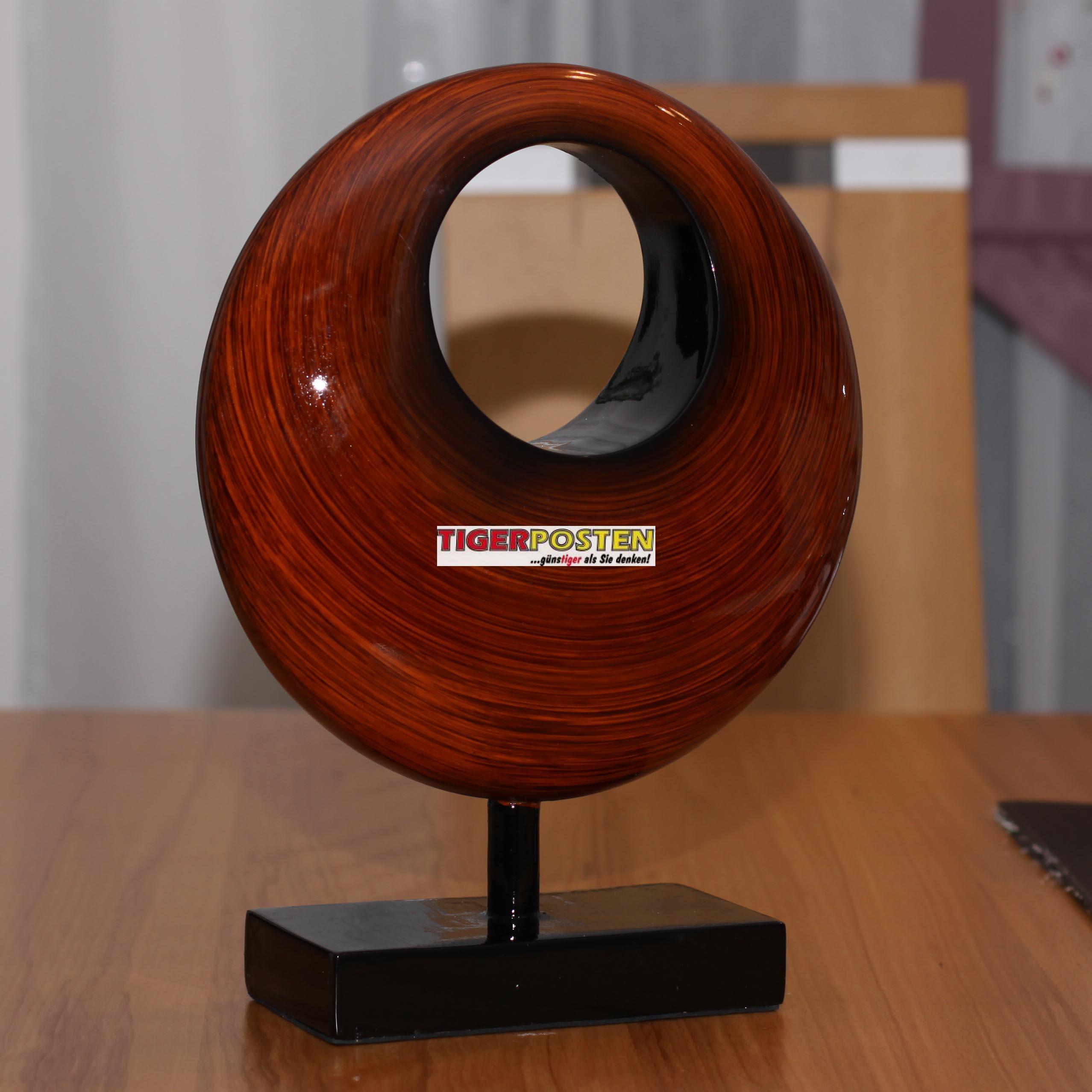 dekofigur figur massiv 2kg modern 31cm für wohnzimmer skulptur ... - Wohnzimmer Deko Figuren