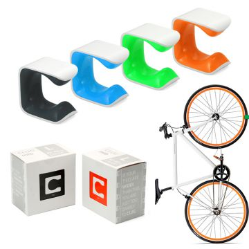 clug mtb l fahrrad wand halterung fahrradst nder f r mountainbikes ebay. Black Bedroom Furniture Sets. Home Design Ideas