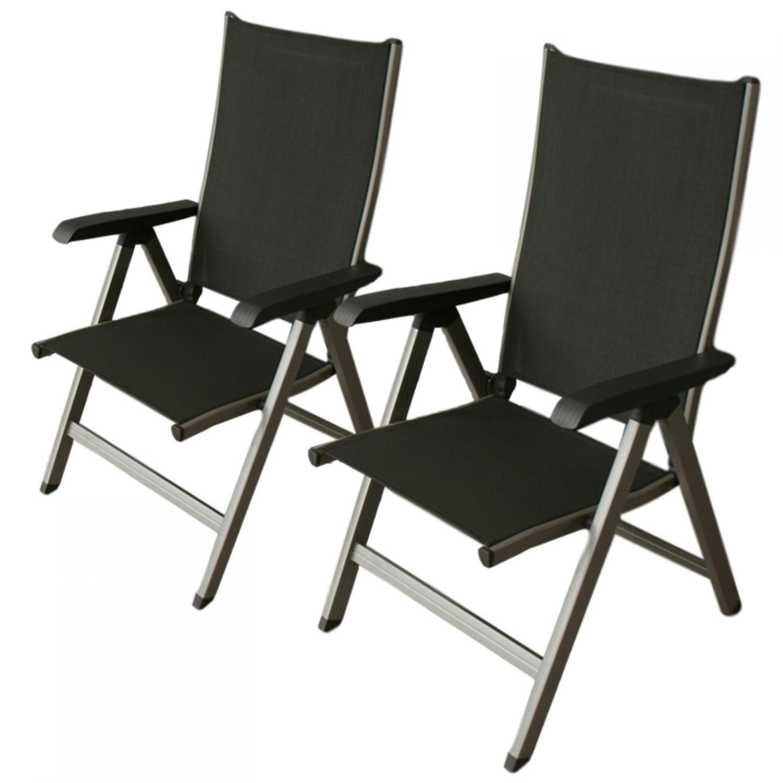 2x kettler gallien multipositionssessel gartenstuhl. Black Bedroom Furniture Sets. Home Design Ideas
