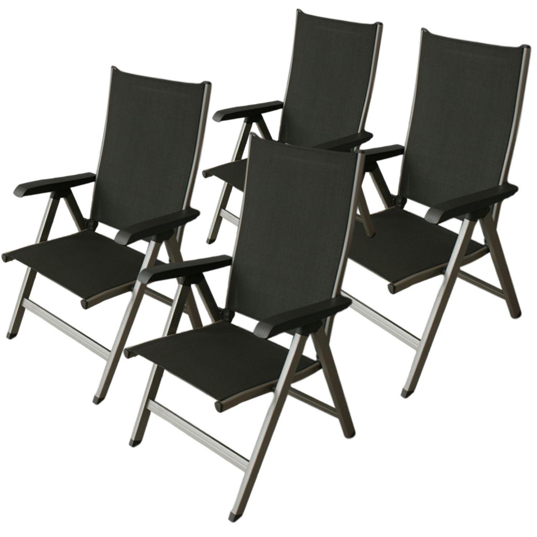 4x kettler gallien gartenstuhl champagner mocca. Black Bedroom Furniture Sets. Home Design Ideas