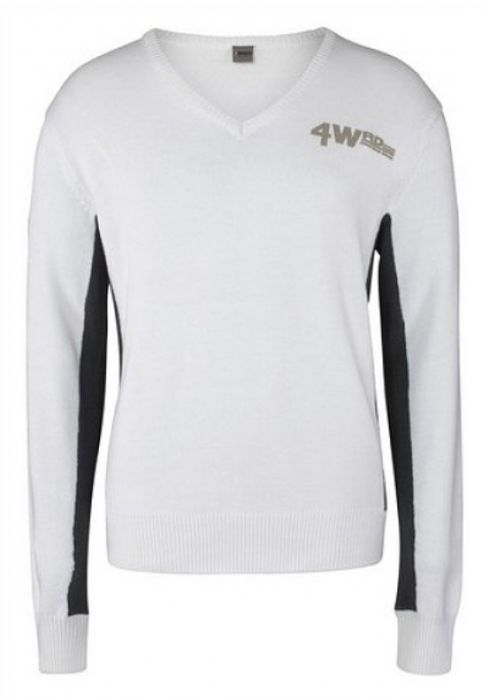 4 wards pullover weiss: