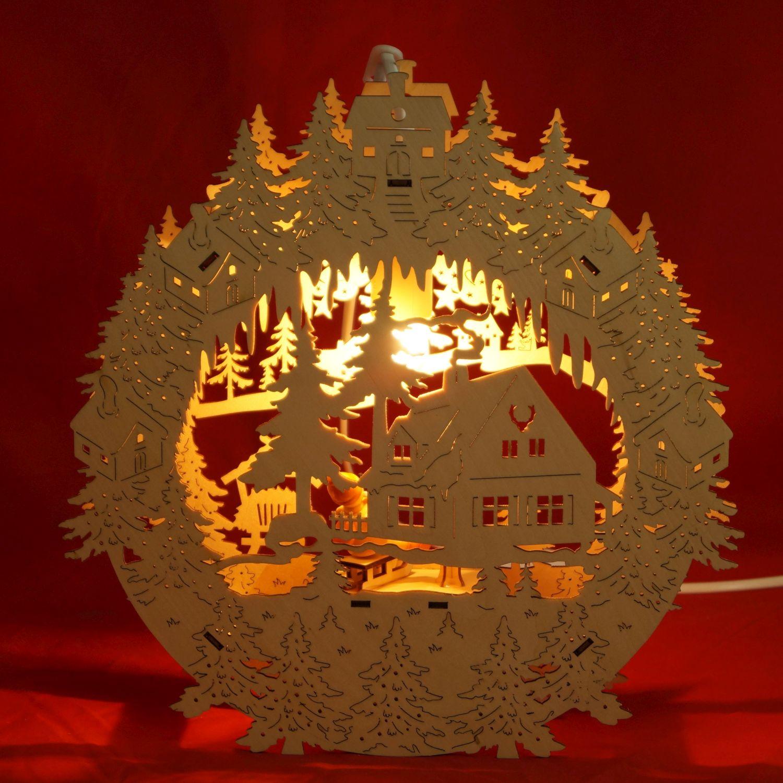 fensterbilder weihnachten beleuchtet beleuchtet. Black Bedroom Furniture Sets. Home Design Ideas