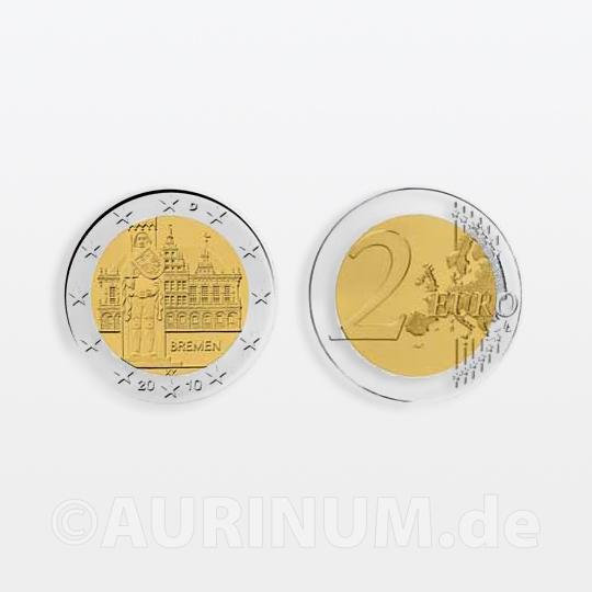 2 euro deutschland f 2010 bremen roland ebay. Black Bedroom Furniture Sets. Home Design Ideas