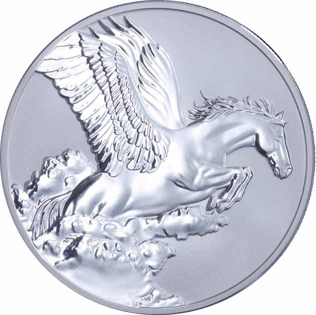 OZ Silver Pegasus Tokelau 5 Dollars 2014 Proof  eBay