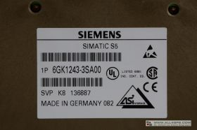 SINEC CP 2433 KOMMUNIKATIONSPROZESSOR, 6GK1243-3SA00 USED