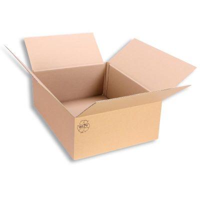 Faltkarton 400 x 300 x 150 mm Versandkarton Karton