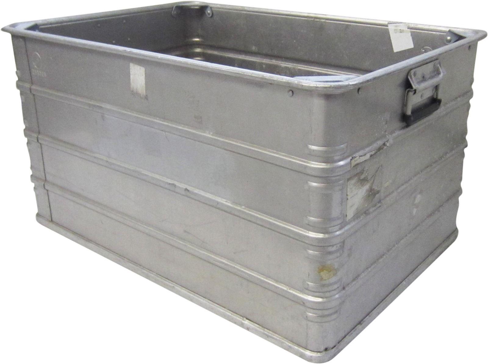 168 liter alubox alu aluminiumkiste transportbox lagerbox. Black Bedroom Furniture Sets. Home Design Ideas