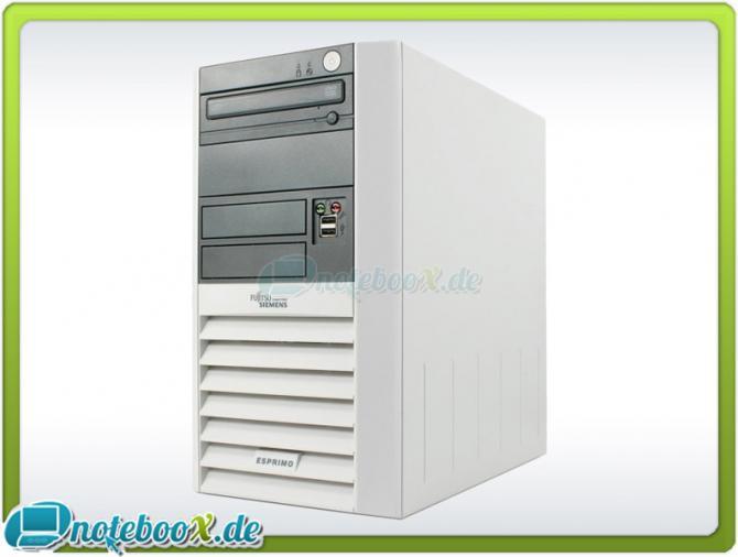 Fujitsu-Siemens-ESPRIMO-P5915-C2D-1-86GHz-2GBDDR2-80GB-HDD-DVD-XP-Gebraucht